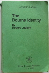 The Bourne Identity Uncorrected Proof